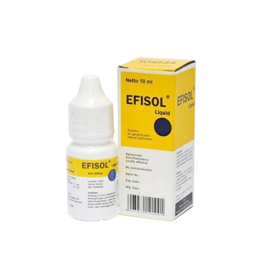 EFISOL LIQUID 10 ML