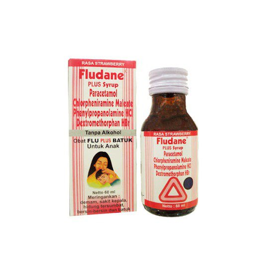 FLUDANE PLUS SIRUP 60 ML
