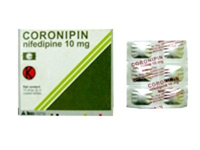 CORONIPIN 10 MG 10 TABLET