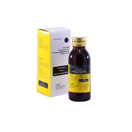 PROME EXPECTORANT SIRUP 100 ML