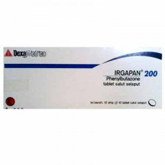 IRGAPAN 200 MG 10 TABLET