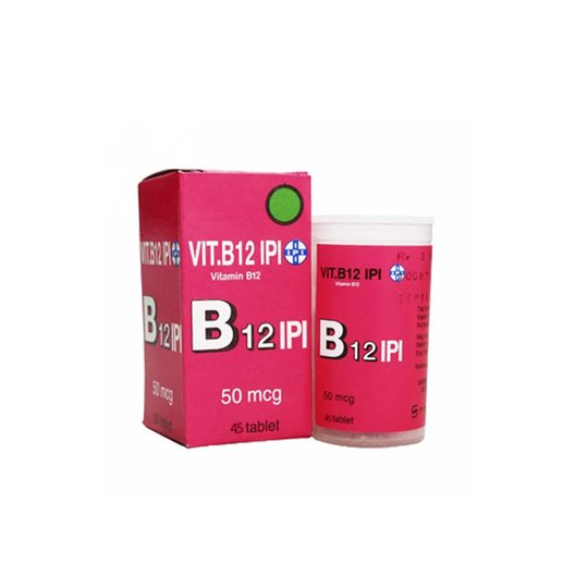VITAMIN B12 IPI 50 MCG 45 TABLET
