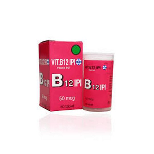 VITAMIN B12 IPI 50 MCG 50 TABLET