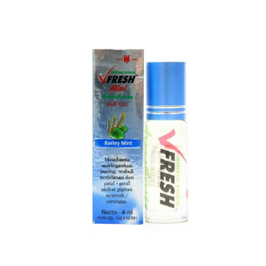 CAP LANG V FRESH BARLEYMINT ROLL ON 4 ML