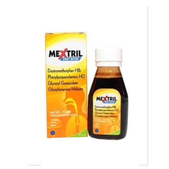 MEXTRIL SIRUP 60 ML
