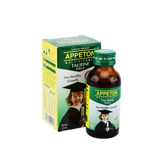 APPETON MULTIVITAMIN WITH TAURINE SIRUP 60 ML