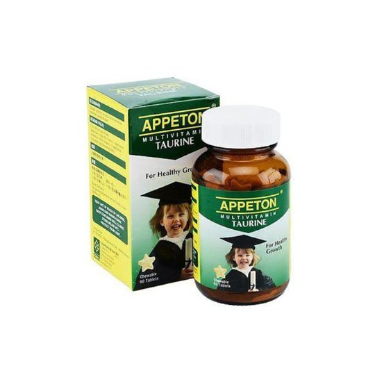 APPETON MULTIVITAMIN WITH TAURINE 60 TABLET