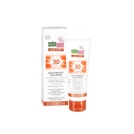 SEBAMED SPF 30 SUN CREAM 75 ML