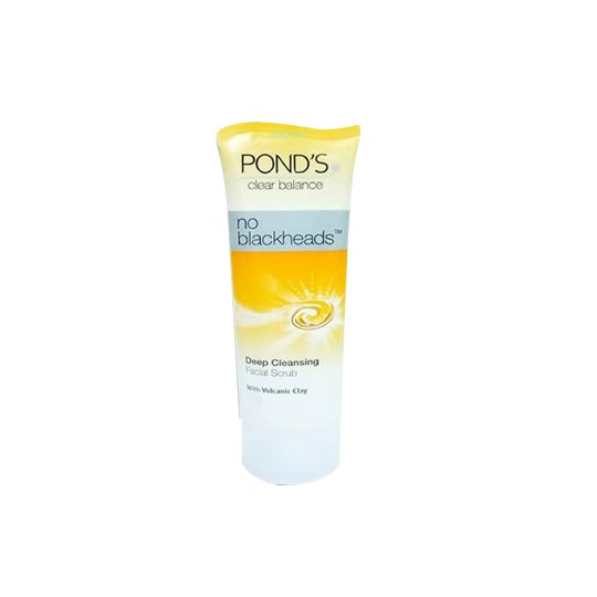 POND'S NO BLACKHEADS DEEP CLEANS FACIAL SCRUB 100 G