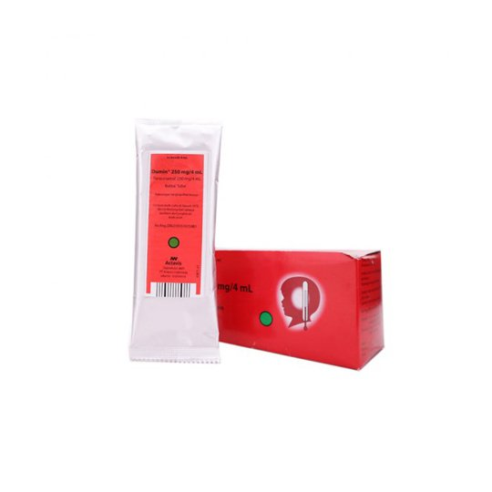 DUMIN 250 MG RECTAL TUBE 4 ML