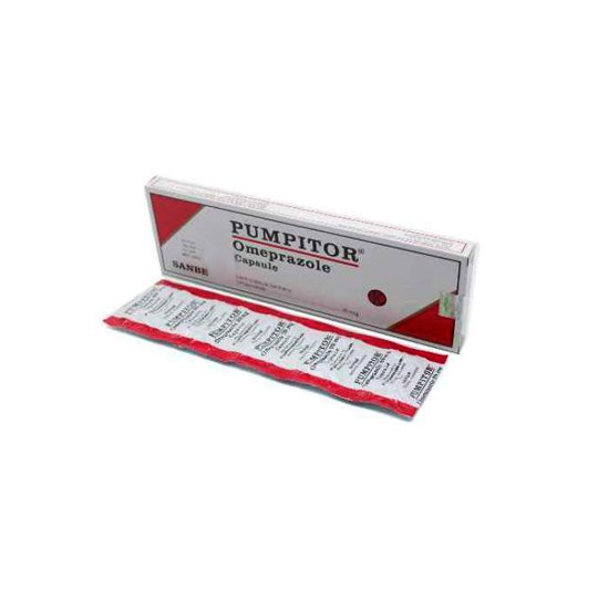 PUMPITOR 20 MG 10 KAPSUL