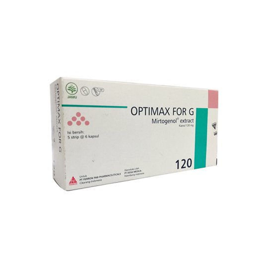 OPTIMAX FOR G 6 KAPSUL