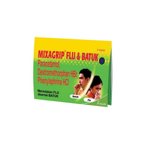 MIXAGRIP FLU DAN BATUK 4 KAPLET