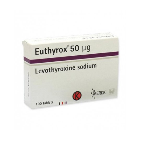 EUTHYROX 50 MCG 25 TABLET