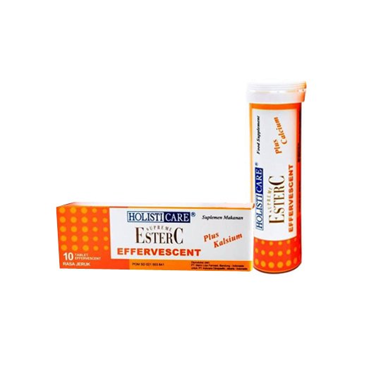 HOLISTICARE ESTER C RASA JERUK 10 TABLET