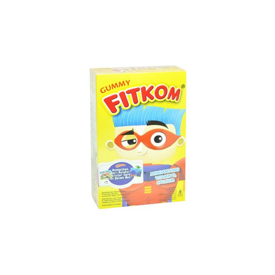 FITKOM GUMMY CALCIUM CHEWABLE 10'S