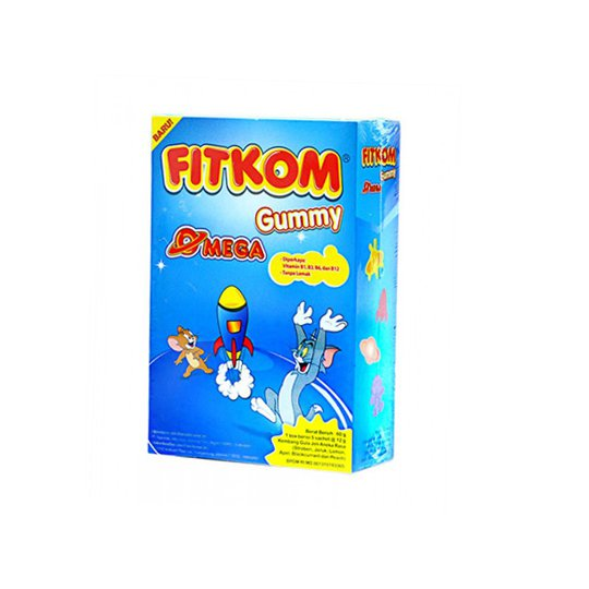 FITKOM GUMMY OMEGA CHEWABLE