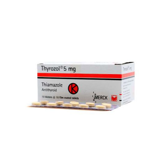 THYROZOL 5 MG 10 TABLET