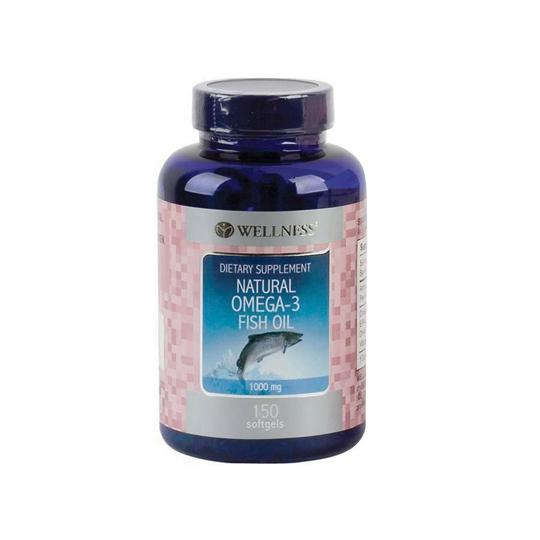 WELLNESS OMEGA-3 FISH OIL 150 KAPSUL