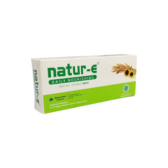NATUR-E 100 IU 16 KAPSUL - Kegunaan, Efek Samping, Dosis ...