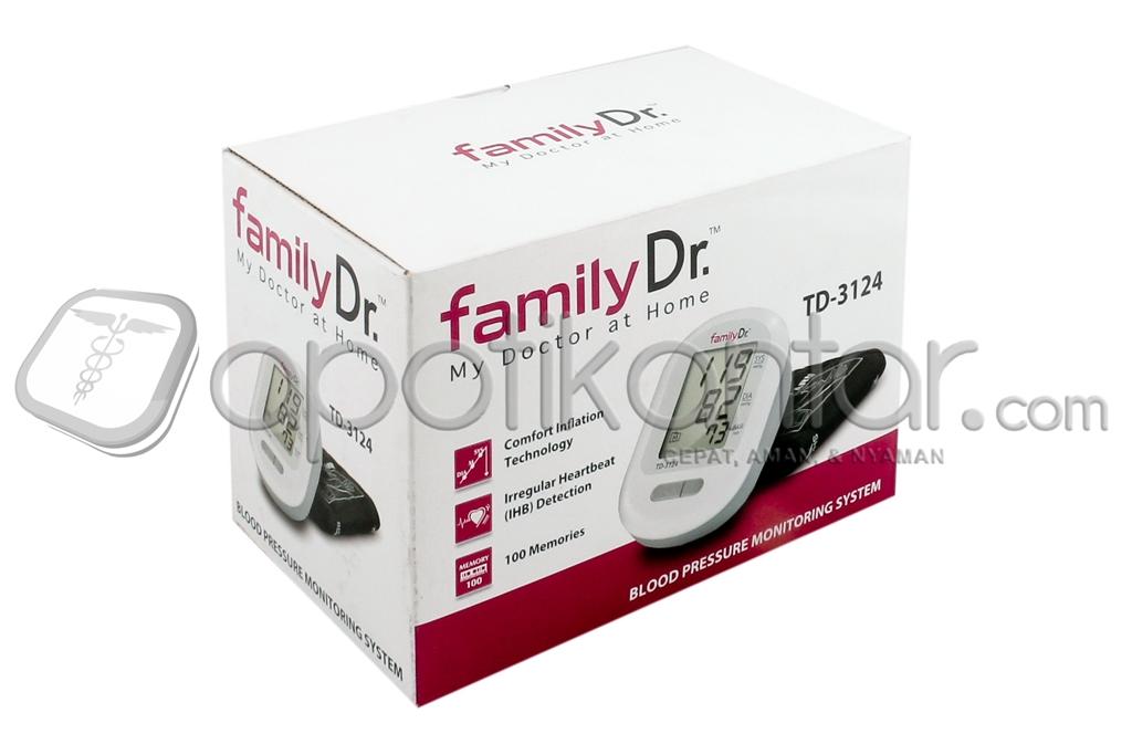 FAMILY DR. TENSIMETER DIGITAL TD-3124