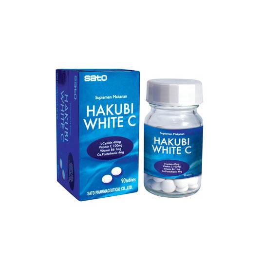 HAKUBI WHITE C 90 TABLET