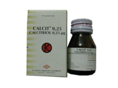 CALCIT 0.25 MCG 10 KAPSUL