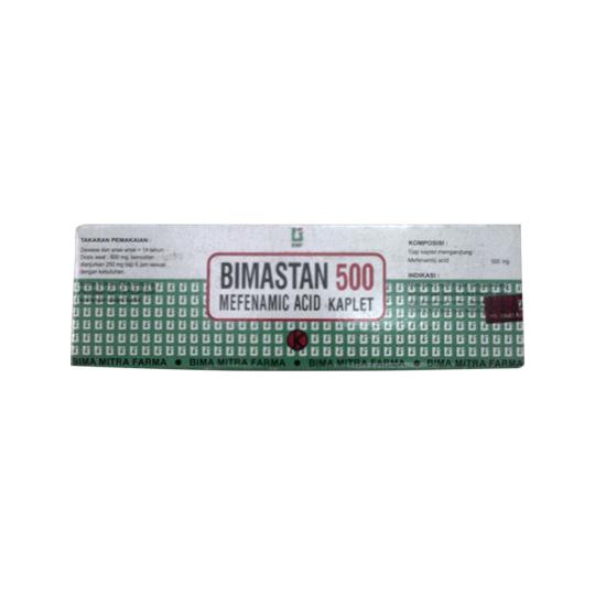 BIMASTAN 500 MG 10 KAPLET
