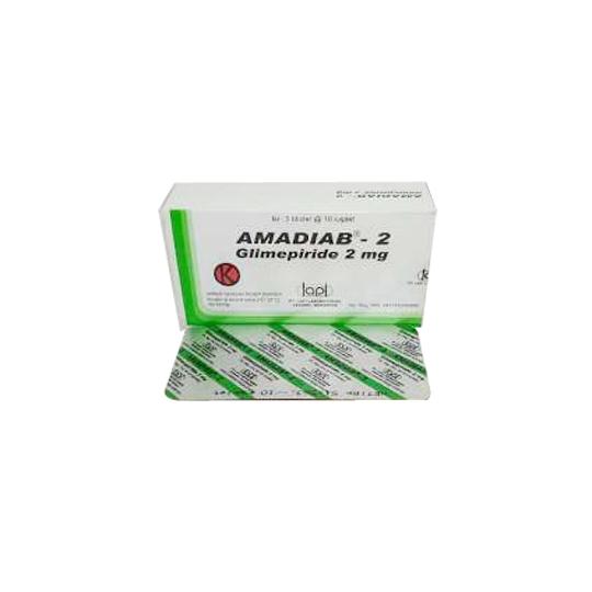 AMADIAB 2 MG 10 KAPLET