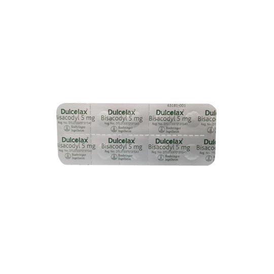 DULCOLAX 5 MG 10 TABLET