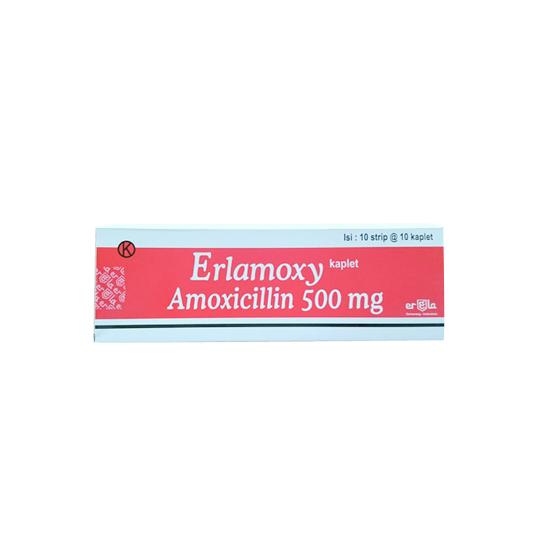 ERLAMOXY 500 MG 10 TABLET