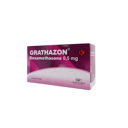 GRATHAZON 0.5 MG 10 KAPLET