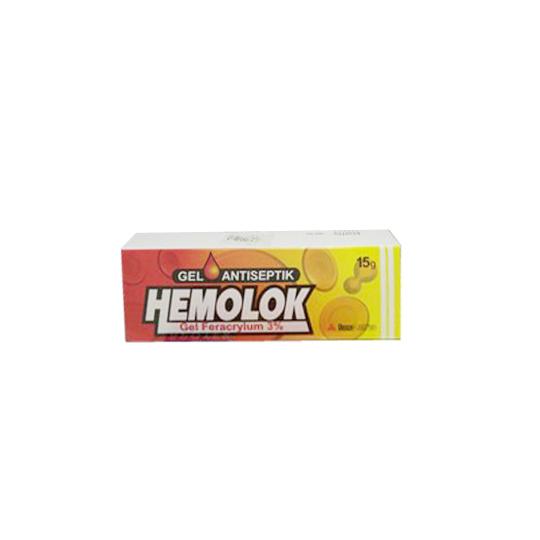 HEMOLOK GEL ANTISEPTIK 15 G