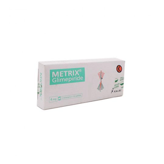 METRIX 4 MG 15 TABLET