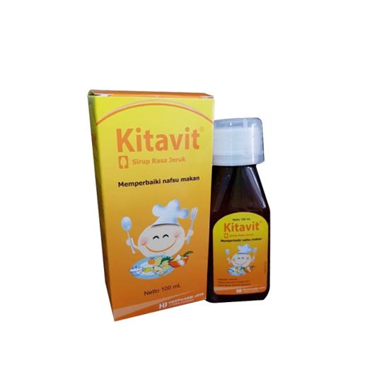 KITAVIT SIRUP ORANGE 100 ML