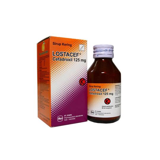 LOSTACEF 125 MG/5 ML SIRUP 60 ML