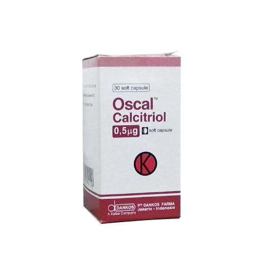 OSCAL 0.5 MCG 30 KAPSUL