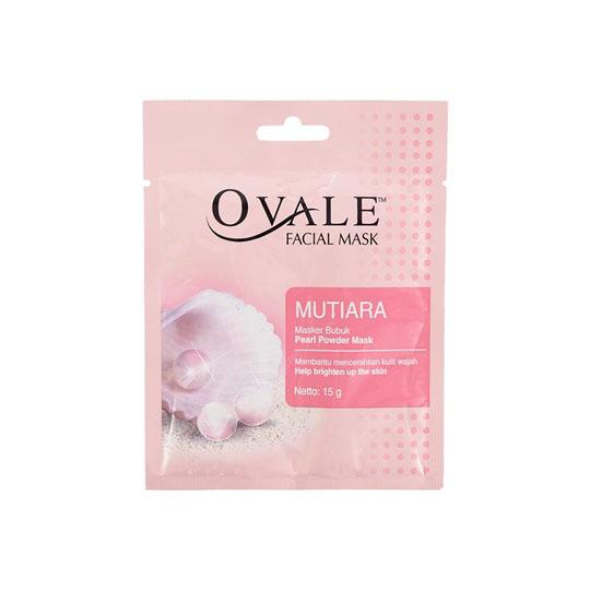 OVALE FACE MASK MUTIARA 15 G