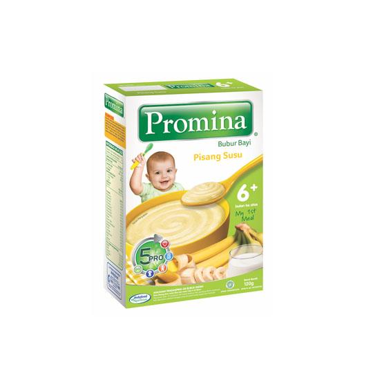 PROMINA BABY SEREAL BANANA MILK BOX 120 G