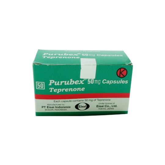 PURUBEX 50 MG 10 KAPSUL