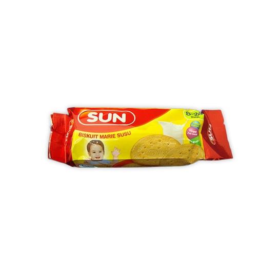 Biskuitkemasan: SUN BISKUIT MARIE SUSU 80 G