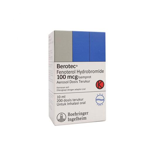 BEROTEC MDI 100 MCG/PUFF 10 ML