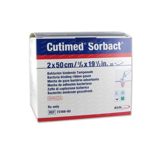 CUTISORB SORBACT 2 CM X 50 CM 1'S
