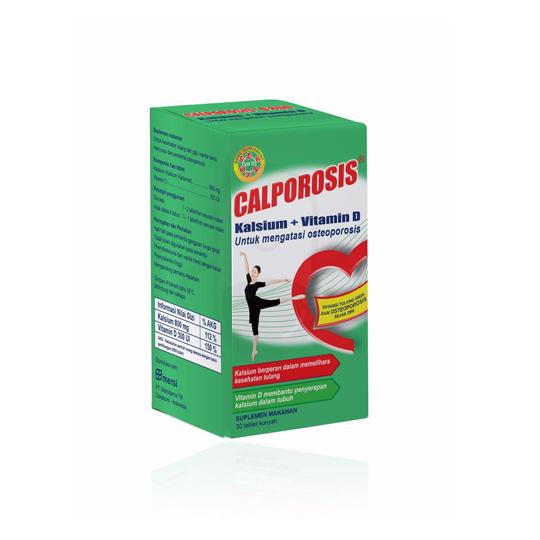 CALPOROSIS D 800 30 KAPLET