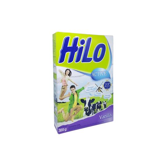 HILO ACTIVE RASA VANILLA 200 G