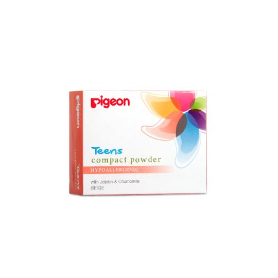 PIGEON COMPACT POWDER HYPOALLERGENIC BEIGE 20 GR