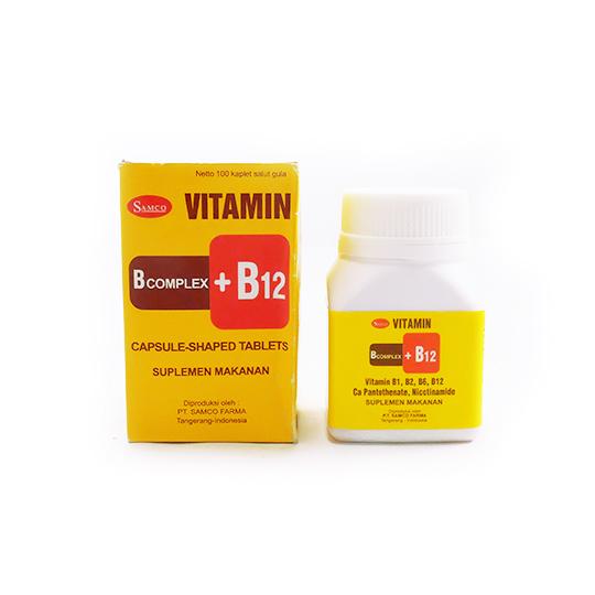 SAMCO B COMPLEX + B12 100 KAPSUL