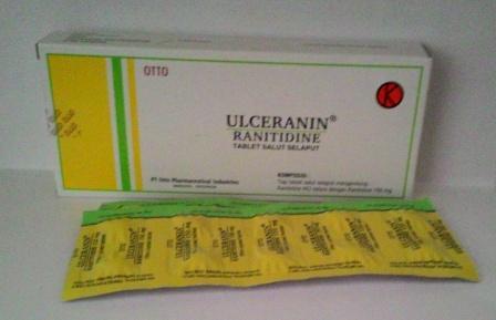ULCERANIN 150 MG 10 TABLET