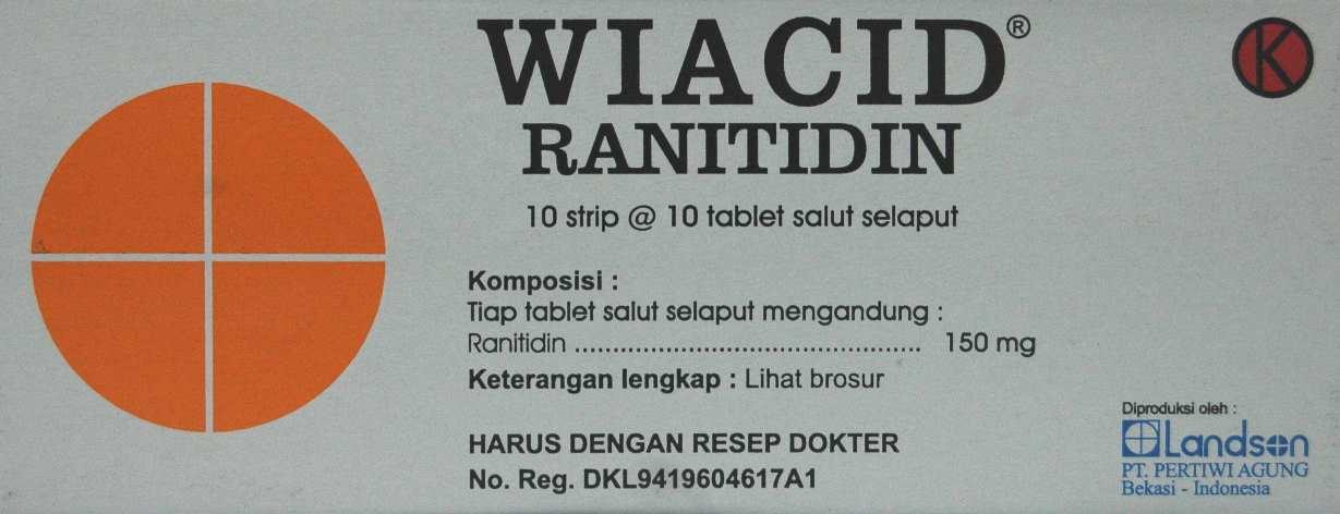WIACID 150 MG 10 TABLET
