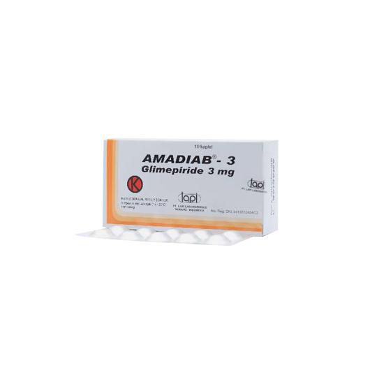 AMADIAB 3 MG 10 KAPLET